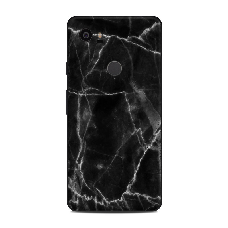 Google Pixel 2 XL Skin design of Black, White, Nature, Black-and-white, Monochrome photography, Branch, Atmosphere, Atmospheric phenomenon, Tree, Sky with black, white colors