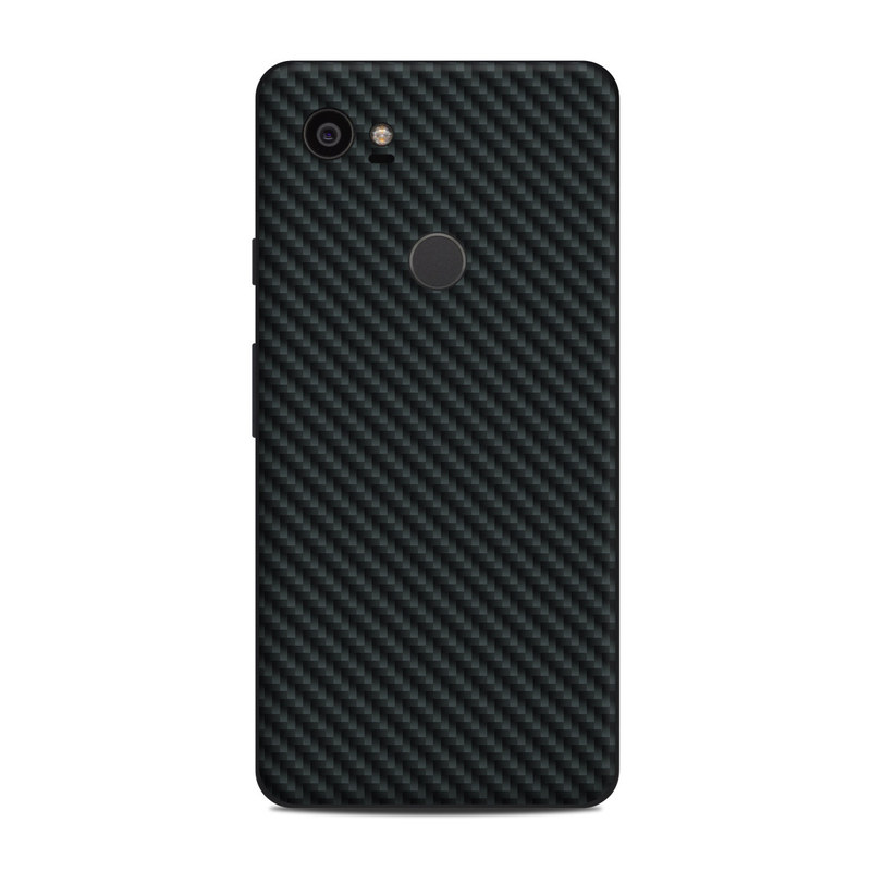 Google Pixel 2 XL Skin design of Green, Black, Blue, Pattern, Turquoise, Carbon, Textile, Metal, Mesh, Woven fabric with black colors