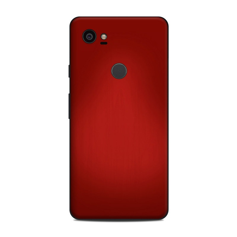 Google Pixel 2 XL Skin design of Red, Maroon, Orange, Brown, Peach, Pattern, Magenta with red colors