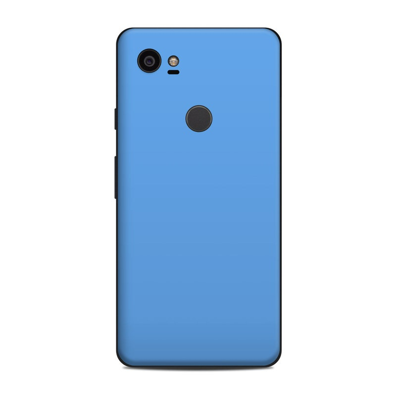 Solid State Blue Google Pixel 2 XL Skin