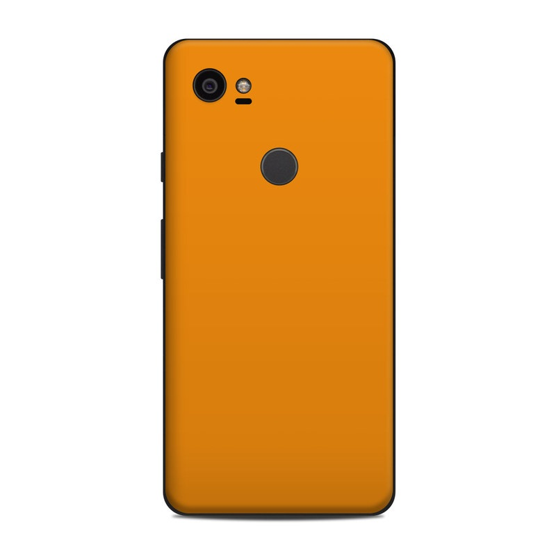 Solid State Orange Google Pixel 2 XL Skin