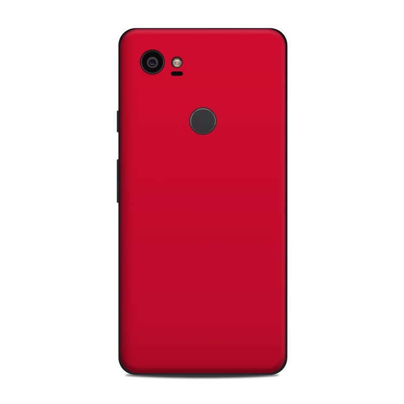 Google Pixel 2 XL Skin design of Red, Pink, Maroon, Purple, Orange, Violet, Magenta, Material property, Font, Peach with red colors