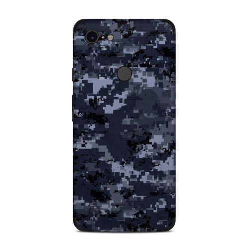 Digital Navy Camo Google Pixel 3 XL Skin