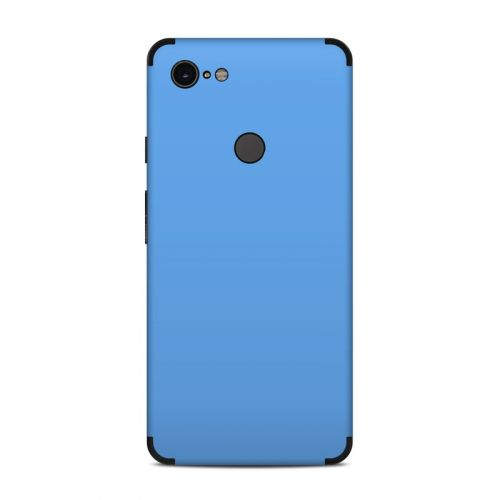 Solid State Blue Google Pixel 3 XL Skin
