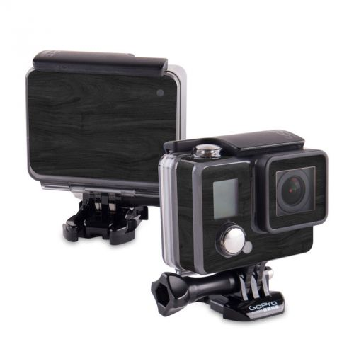 Black Woodgrain GoPro Hero Skin
