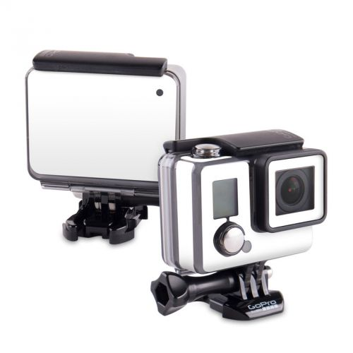 Solid State White GoPro Hero Skin
