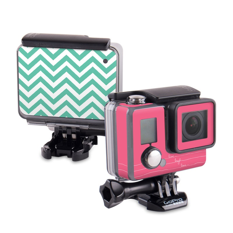 Live Laugh Love GoPro Hero Skin