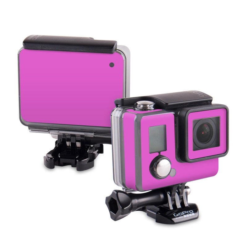 Solid State Vibrant Pink GoPro Hero Skin
