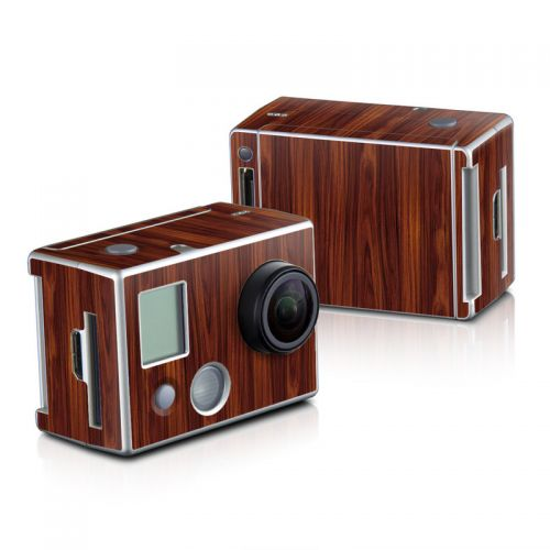 Dark Rosewood GoPro HD Hero 2 Skin
