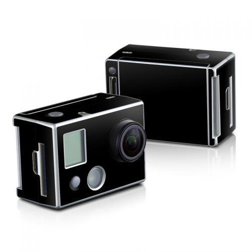Solid State Black GoPro HD Hero 2 Skin