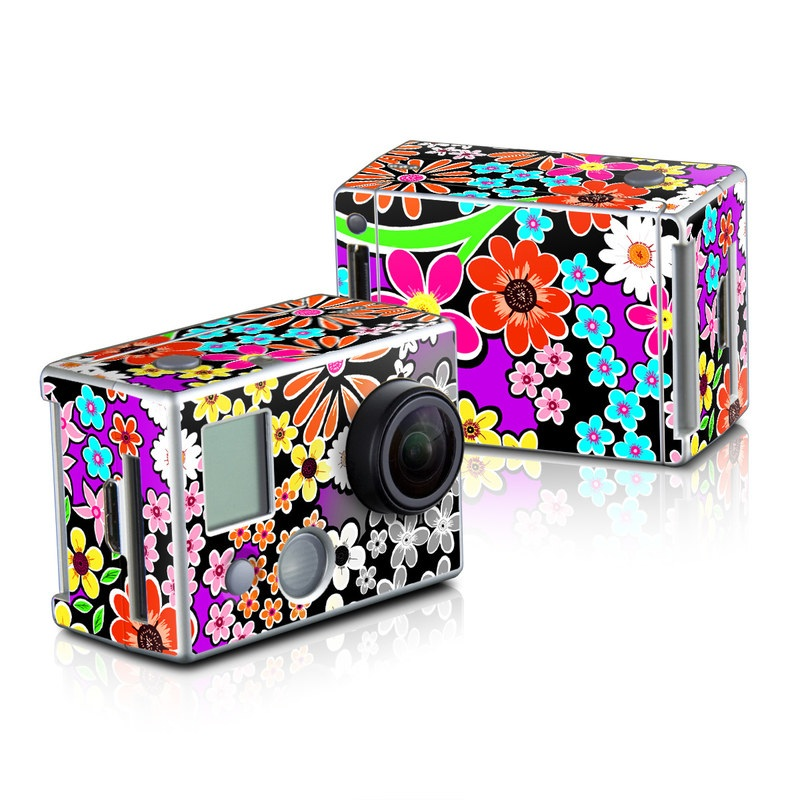 A Burst of Color GoPro HD Hero 2 Skin