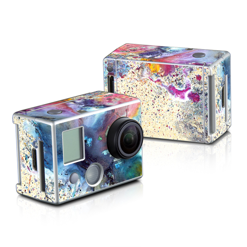 Cosmic Flower GoPro HD Hero 2 Skin
