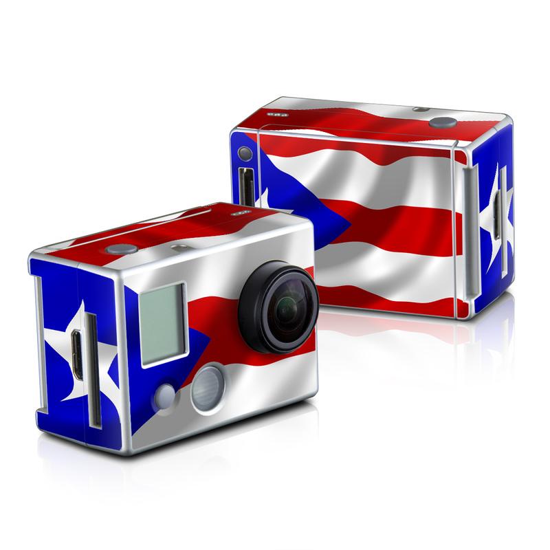 Puerto Rican Flag GoPro HD Hero 2 Skin