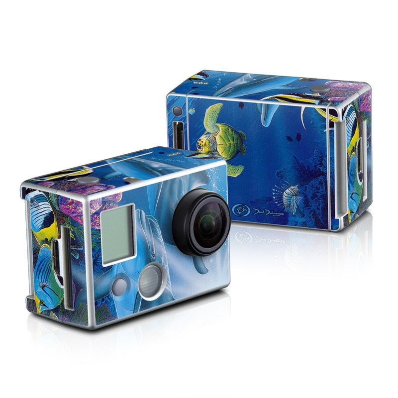 Ocean Friends GoPro HD Hero 2 Skin