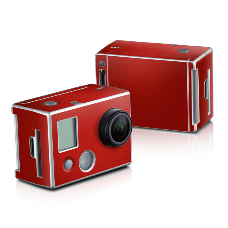 Red Burst GoPro HD Hero 2 Skin
