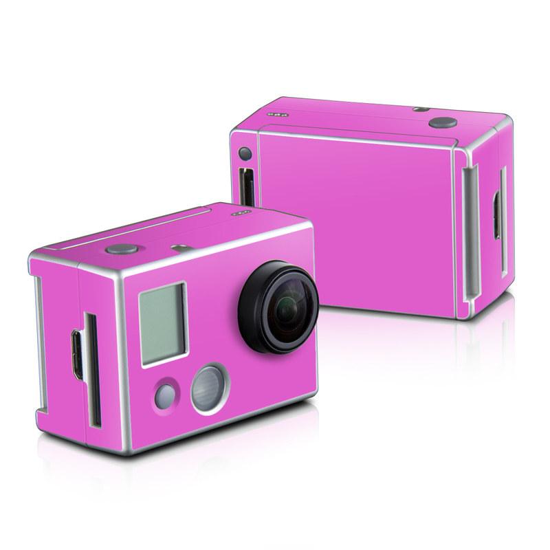 Solid State Pink GoPro HD Hero 2 Skin