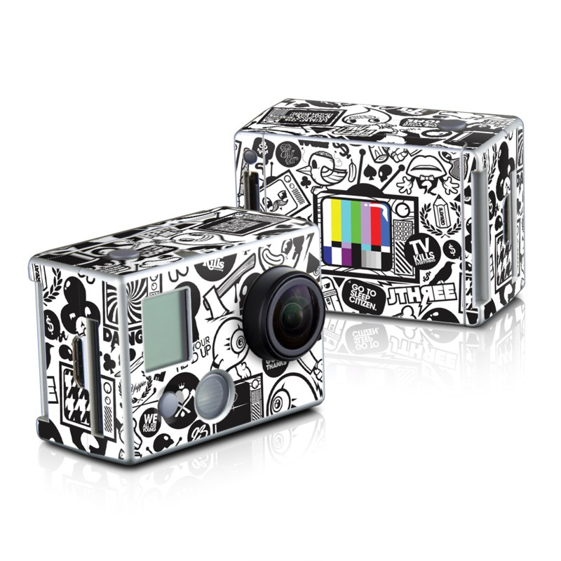 TV Kills Everything GoPro HD Hero 2 Skin