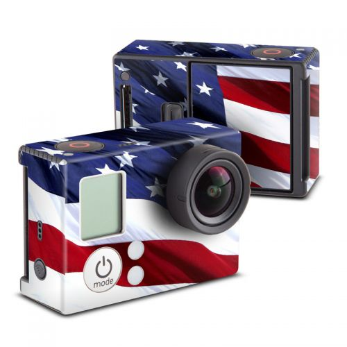 Patriotic GoPro Hero3 Skin