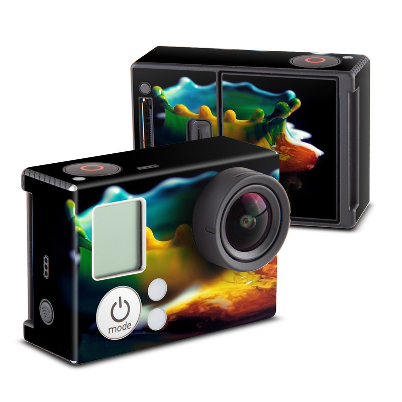 Colored Crown GoPro Hero3 Skin