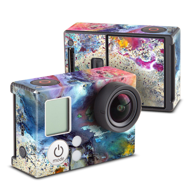 Cosmic Flower GoPro Hero3 Skin