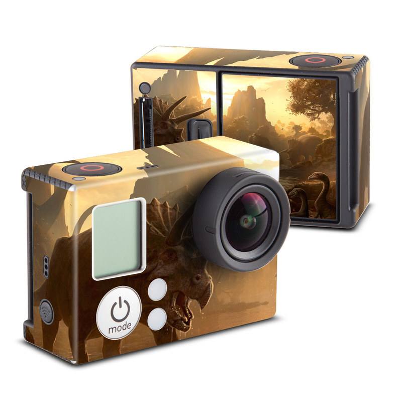 Cretaceous Sunset GoPro Hero3 Skin