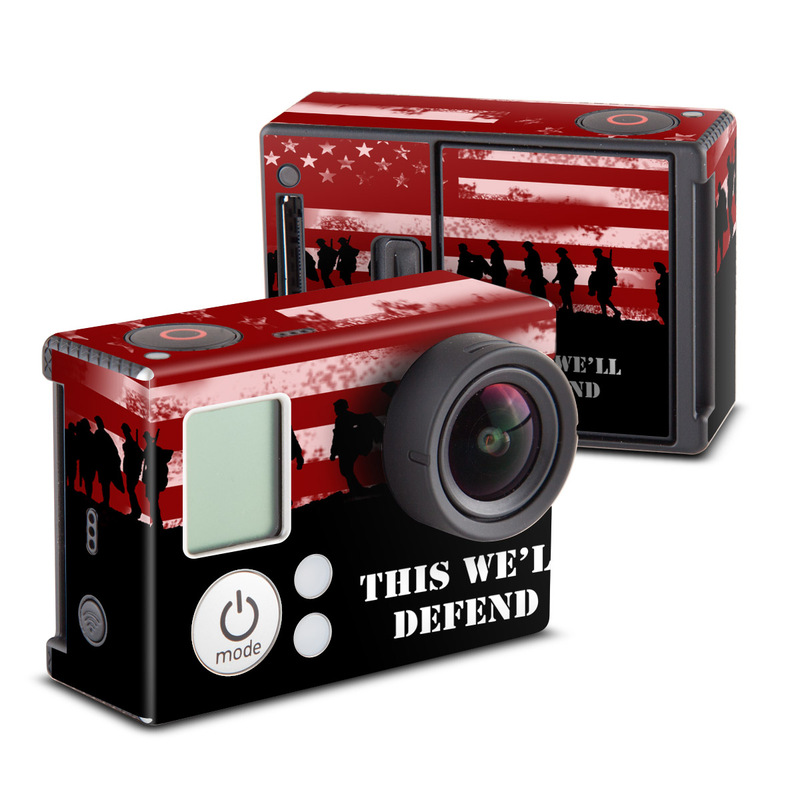 Defend  GoPro Hero3 Skin