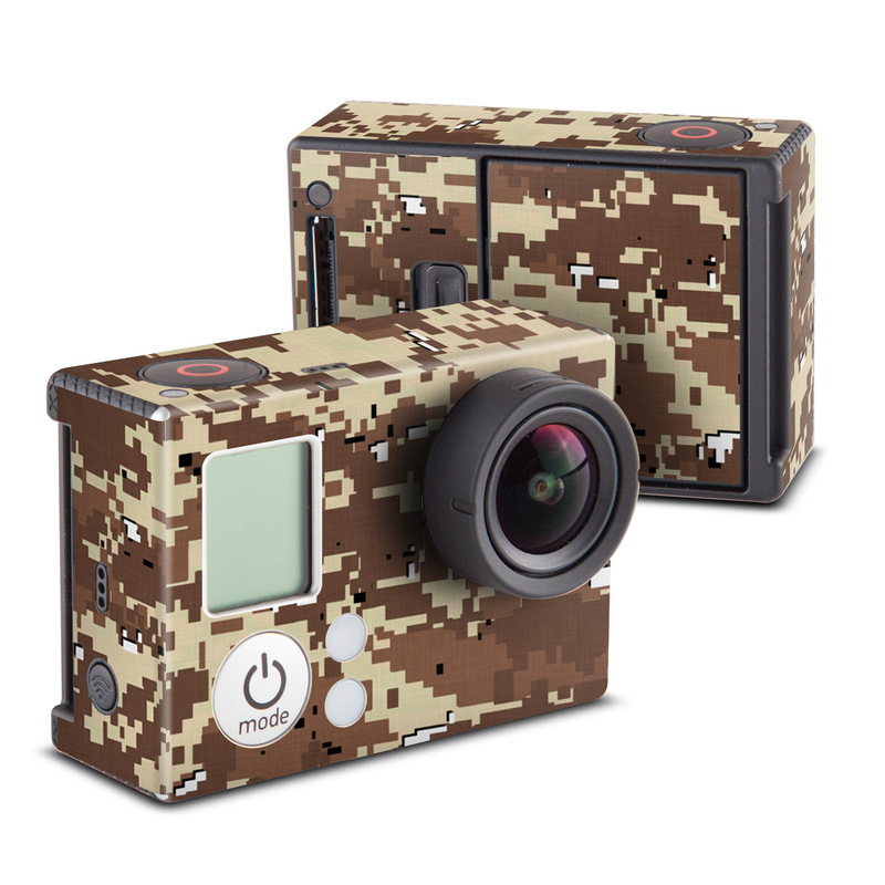 Digital Desert Camo GoPro Hero3 Skin