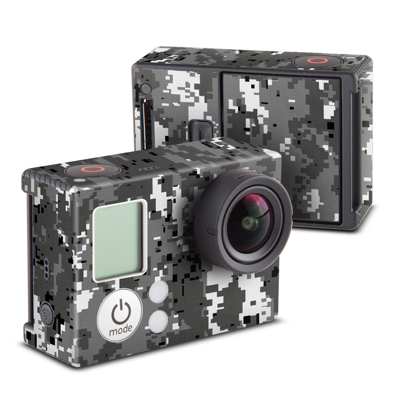 Digital Urban Camo GoPro Hero3 Skin