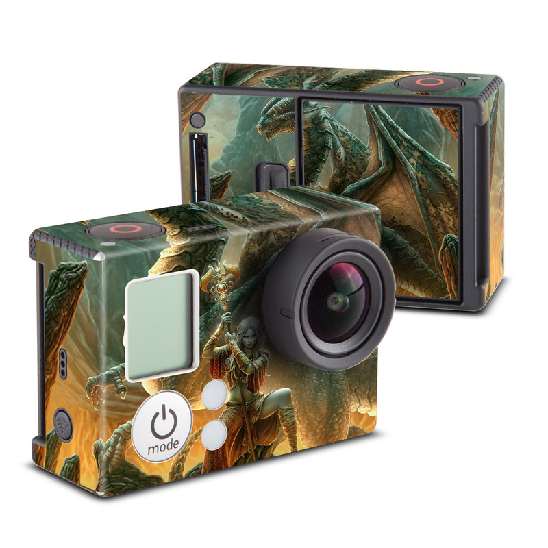 Dragon Mage GoPro Hero3 Skin