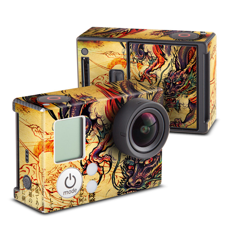 Dragon Legend GoPro Hero3 Skin
