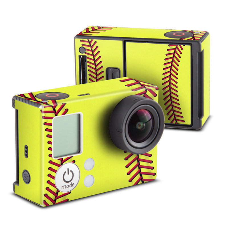 Softball GoPro Hero3 Skin