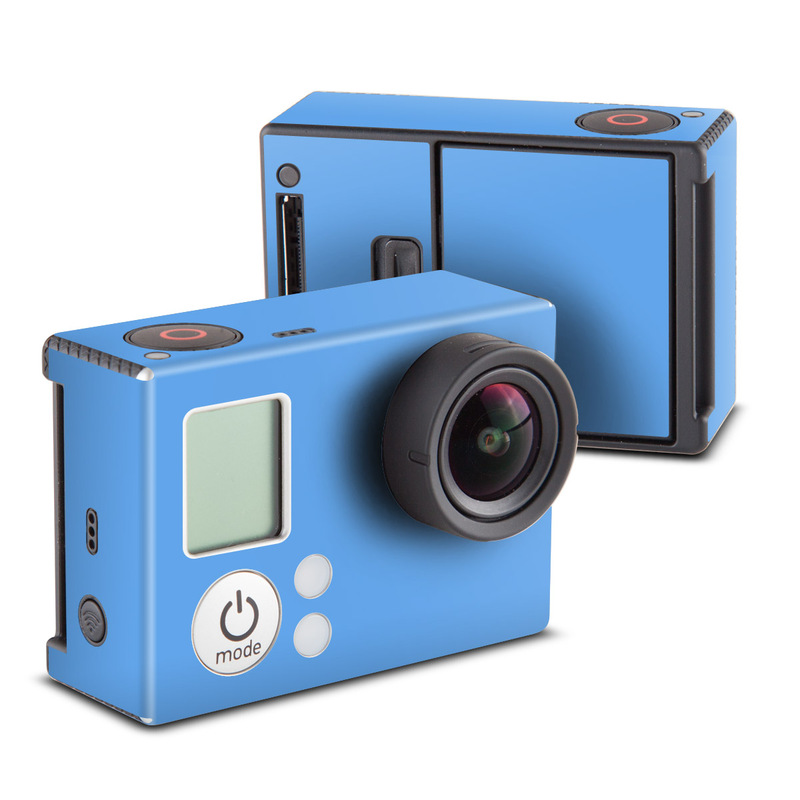 Solid State Blue GoPro Hero3 Skin