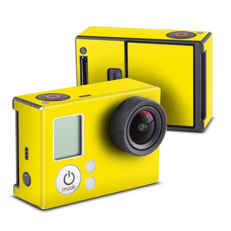 Solid State Yellow GoPro Hero3 Skin