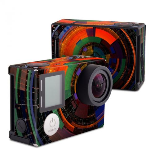 Color Wheel GoPro Hero4 Black Edition Skin