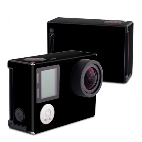 Solid State Black GoPro Hero4 Black Edition Skin