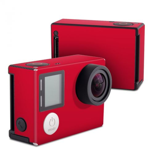 Solid State Red GoPro Hero4 Black Edition Skin