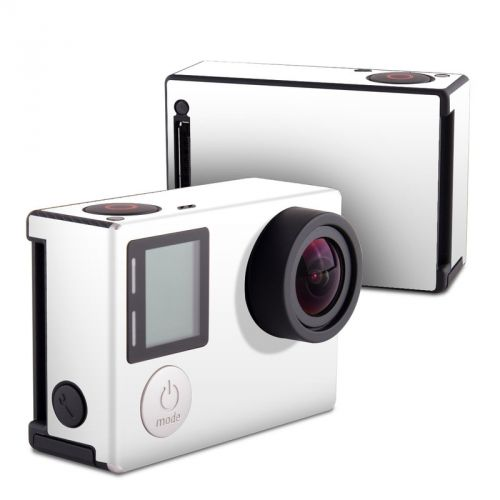 Solid State White GoPro Hero4 Black Edition Skin