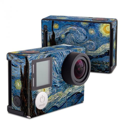 Starry Night GoPro Hero4 Black Edition Skin