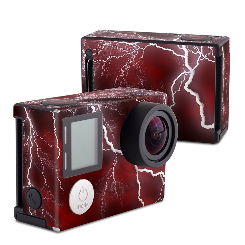 Apocalypse Red GoPro Hero4 Black Edition Skin