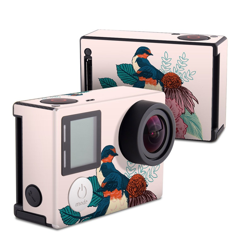 Barn Swallows GoPro Hero4 Black Edition Skin