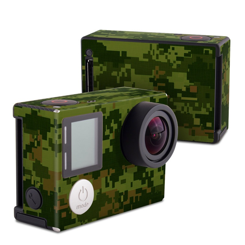 CAD Camo GoPro Hero4 Black Edition Skin