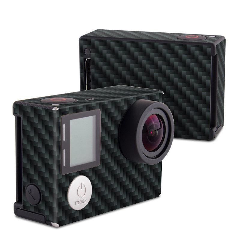 Carbon Fiber GoPro Hero4 Black Edition Skin