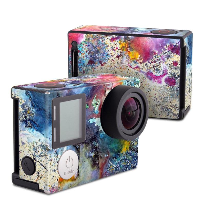 Cosmic Flower GoPro Hero4 Black Edition Skin