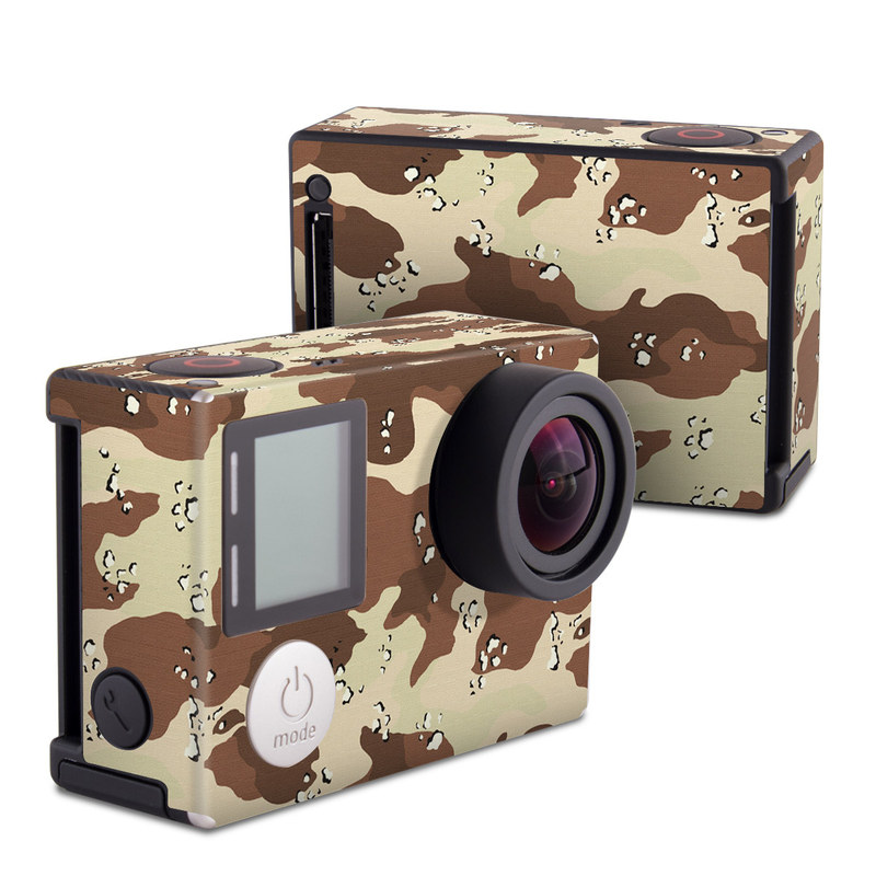 Desert Camo GoPro Hero4 Black Edition Skin