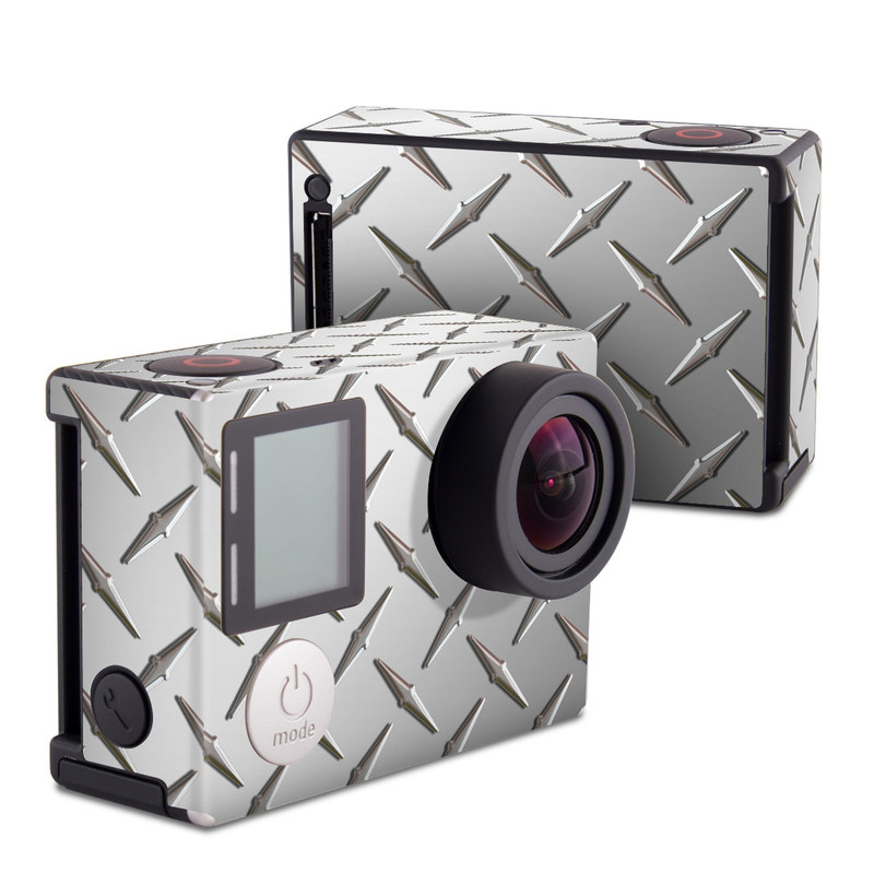 Diamond Plate GoPro Hero4 Black Edition Skin