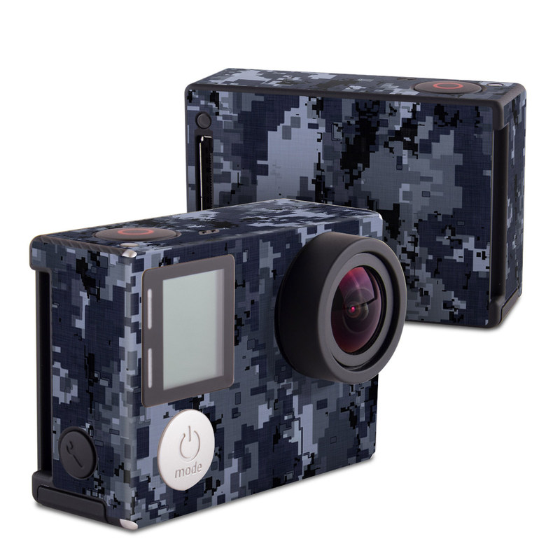Digital Navy Camo GoPro Hero4 Black Edition Skin