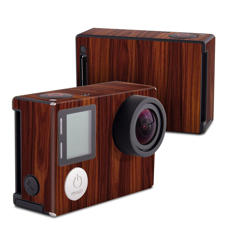 Dark Rosewood GoPro Hero4 Black Edition Skin