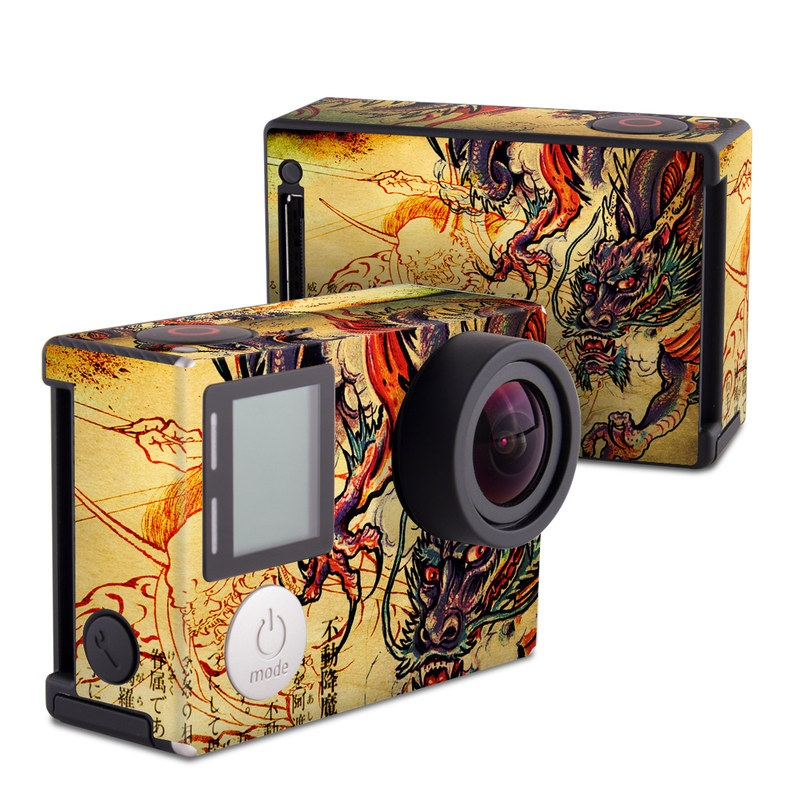 Dragon Legend GoPro Hero4 Black Edition Skin