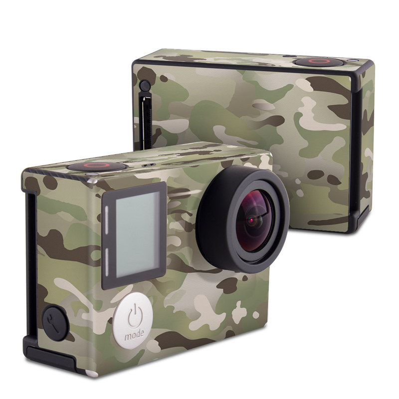 FC Camo GoPro Hero4 Black Edition Skin