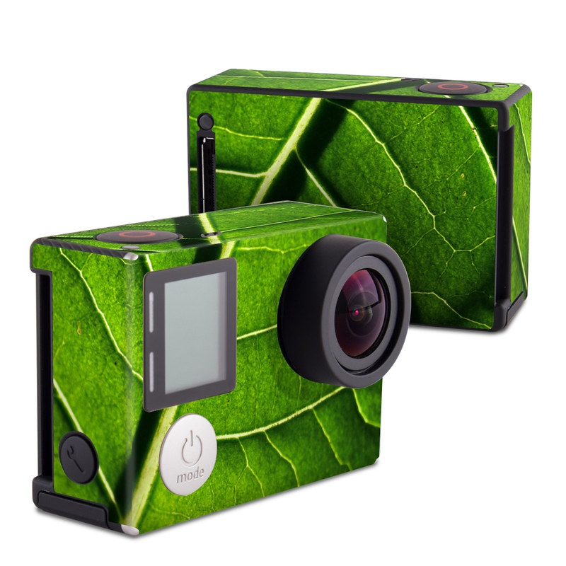 Green Leaf GoPro Hero4 Black Edition Skin